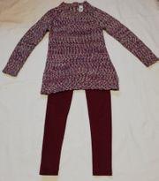 Mädchen Strickpullower mit Winter Leggings