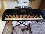 Yamaha Keyboard plus Zubehör