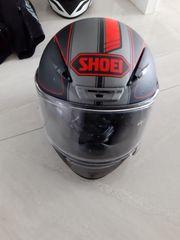 Shoei NXR M Rot Schwarz