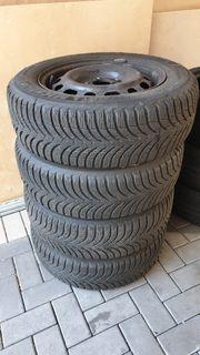 Winterräder Stahlfelge Michelin Mazda