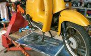 Motorradhebebühne elektrisch