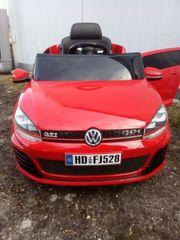 Kinderauto VW Golf elektrisch