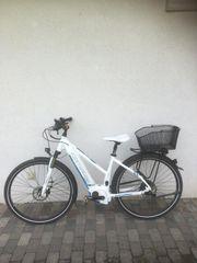 Kaum benutztes E-Bike zu verkaufen