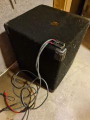 Musik-Bassbox