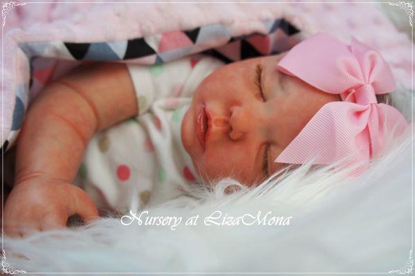 LAURA nicht echte Babys REBORN