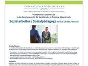 Sozialarbeiter Sozialpädagoge m w d