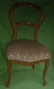 6 Stück Stühle Wiener Barockstühle