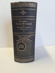 Antiquarisches Reichsgesetzbuch von 1911 zu