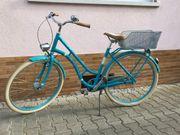 Bergamont Summerville N7 Damen-Retro-City-Fahrrad 52cm