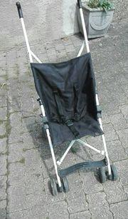 Stabiler Buggy schwarz faltbar