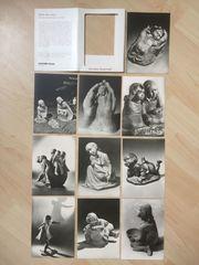 10 Ansichtskarten Dorothea Steigerwald um