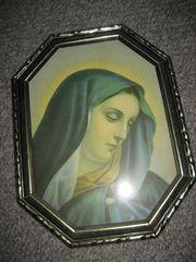 Maria Marienbild Heiligenbild Bild Erbstück