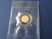 Afrika Ruanda Gold Münze Berggorilla