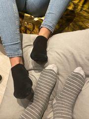 Erotische Fußbilder zweier Frauen