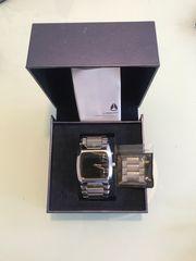 Eleganter Designer Chronograph Armbanduhr Edelstahl