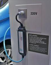 Notladekabel -Elektroauto ZOE AUDI TESLA