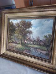 Gemälde Bild Maler I Neuberger