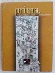 Prima Gesamtkurs Latein Begleitband Ausgabe