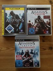 PS3 Assassins Creed 1 2