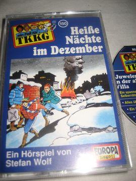 Bild 4 - 2 Stück TKKG Hörspielcassetten Kassetten - Birkenheide Feuerberg