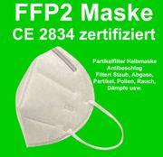 FFP2 Maske CE zertifiziert