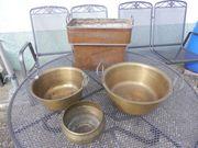 Kupferkessel Kupferkübel Kupferbottich Kupferwanne