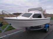Angelboot Kajütboot Motorboot zu verkaufen