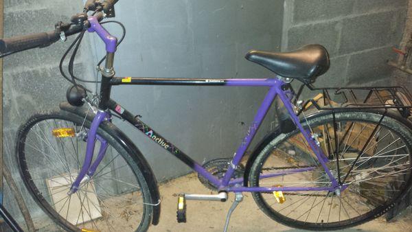 Herren Fahrrad und ein neues