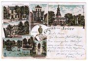 Gruss aus Jever gelaufen 1898