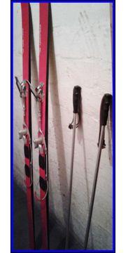1 Paar Skier