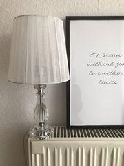 Dekoration- Lampe