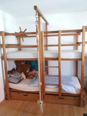 Original Gullibo-Etagenbett Piratenbett Kinderspielbett