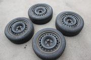 Mercedes Stahlfelgen mit Reifen