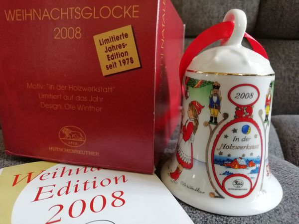 Hutschenreuther Weihnachtsglocke 2008 In der