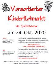 Vorsortierter Kinderflohmarkt inkl Großteileverkauf - Dietzebach