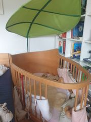 Voll holz Kinderbett