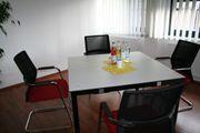 4 Bürostühle mit Besprechungstisch NEUWERTIG