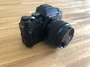 Fujifilm X-T100 Systemkamera inkl XC15-45mmF3