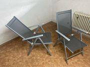 Gartenstühle Gartenliege sehr guter Zustand