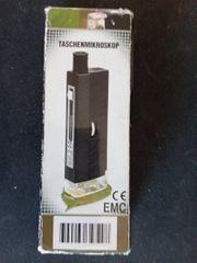 Taschenmikroskop 60 80 100 fach