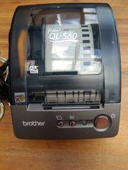 Brother P-touch QL-560 Etikettendrucker gebraucht