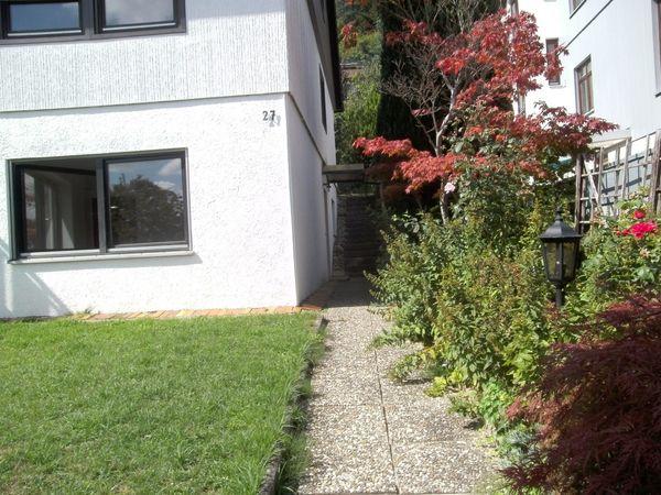 Mietwohnung mit Gartenanteil