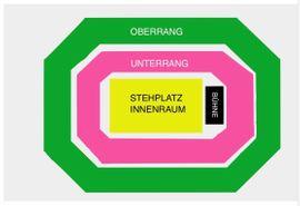Tickets / Eintrittskarten - Apache 207 Mannheim Stehplatz
