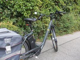 Sonstige Fahrräder - E-Bike zu Einkaufen