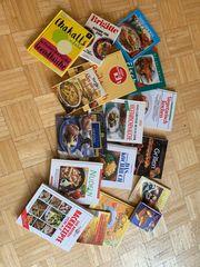 17 Koch- und Backbücher