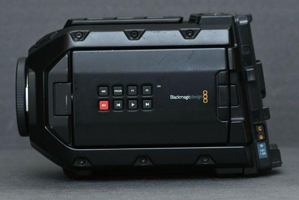 Blackmagic Design URSA Mini, Super 35mm 4. 6K Sensor, Canon EF Mount