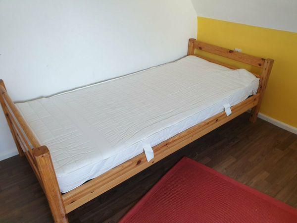 Komplettes Massivholz Bett Kinder Jugend