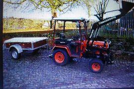 Traktoren, Landwirtschaftliche Fahrzeuge - Frotlader für Kleintraktoren