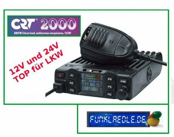 CRT 2000 Multi CB Funkgerät