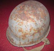 Sammlerstück Amerikanischer Stahlhelm zweiter Weltkrieg